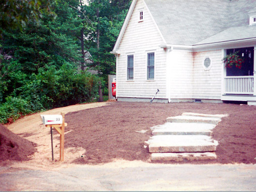 2 loam and step slab installation phase I